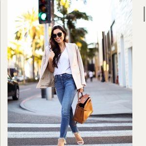 3x1 Jeans - 3x1 stretch denim with frayed ankles!